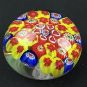 Sale 8402D - Lot 82 - Millefiori Art Glass Paperweight (Height - 5cm)