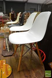Sale 8480 - Lot 1108 - Set of 4 Eames Style Chairs