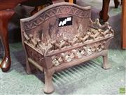 Sale 8570 - Lot 1066 - Small Cast Iron Fire Grate
