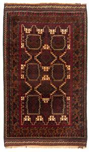 Sale 8715C - Lot 166 - A Persian Balouchi Village Rug, Wool On Cotton Foundation, 180 x 106cm