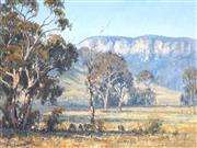 Sale 8870A - Lot 507 - Allan Fizzell (1944 - ) - In the Capertree Valley, 1980 74.5 x 99.5 cm