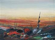 Sale 8929 - Lot 596 - Garth Tapper (1927 - 1999) - Desert Landscape 49 x 68.5 cm
