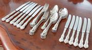 Sale 8908H - Lot 62 - A Rodd cutlery six person setting