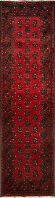 Sale 8380C - Lot 34 - Afghan Turkman Runner 280cm x 80cm