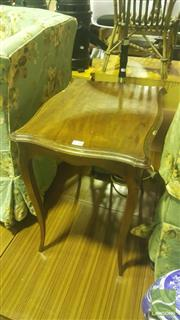 Sale 8431 - Lot 1088 - Small French Cabriole Leg Side Table