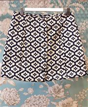 Sale 8474A - Lot 9 - A retro style Top Shop mini skirt, in excellent condition, size 10
