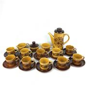 Sale 8607R - Lot 32 - Palissey Coffee Setting for 10 -