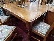 Sale 8676 - Lot 1036 - Rustic Pine Kitchen Table