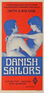 Sale 8822A - Lot 5108 - Danish Sailors - 76 x 34.5cm