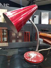 Sale 8934 - Lot 1026 - Anodised Metal Retro Table Lamp