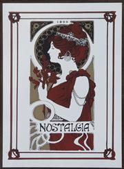 Sale 8959 - Lot 1078 - Nostalgia Printed Mirror (45 x 30cm)