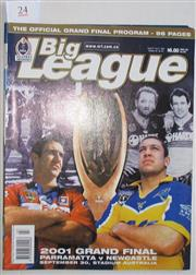 Sale 8418S - Lot 24 - 2001 GRAND FINAL Oct Vol 82 No. 30 Newcastle v Parramatta