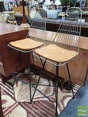 Sale 8435 - Lot 1024 - Pair of Meadmore Stools