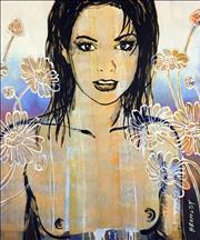 Sale 8451E - Lot 5028 - David Bromley (1960 - ) - Belinda 93 x 77cm (frame size: 115 x 98cm)