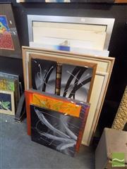 Sale 8483 - Lot 2034 - 12 Assorted Art Works incl Oils