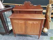 Sale 8570 - Lot 1053 - Cedar Chiffonier (104 x 46 x 126cm)