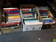 Sale 8582 - Lot 2426 - 3 Boxes of Various Books