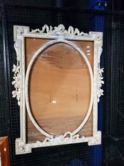 Sale 8663 - Lot 2188 - Ornate Carved Timber Frame