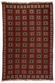 Sale 8790C - Lot 65 - A Persian Sumak Hand Woven Wool, 270 x 190cm