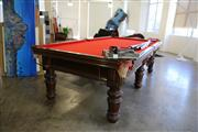 Sale 8825A - Lot 15 - 9ft regulation Pool Table