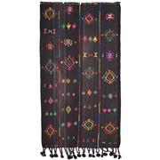 Sale 8830C - Lot 28 - A Kurdish Vintage Nomadic Herki Kilim in Handspun Wool 292x160 cm