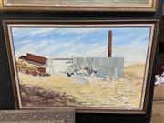 Sale 9061 - Lot 2054 - Untley, Mill at Wisemans Creek, oil, SD81LR, 598x90cm