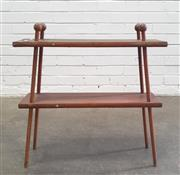 Sale 9071 - Lot 1069 - Vintage Timber Shadow Box (h:62 x w:59 x d:12cm)