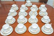 Sale 8341A - Lot 43 - A Royal Albert Antoinette pattern tea and cake service, for 16