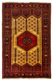 Sale 8715C - Lot 147 - A Persian Hamadan Classed As Village Rugs, Wool On Cotton Foundation, 200 x 130cm