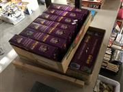 Sale 8789 - Lot 2290 - 2 Boxes of Disney Toys incl Marble Maze & Domino Staircase