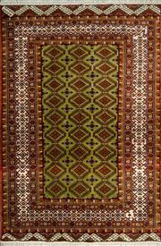 Sale 8380C - Lot 35 - Persian Turkman 185cm x 125cm