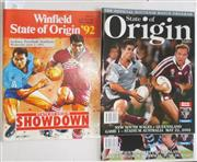 Sale 8418S - Lot 26 - STATE OF ORIGIN PROGRAMMES (3) 3rd June 1992, 2002 Game 1 SFS 22nd May 2002, 2002 Game 3 SFS 26th June 2002