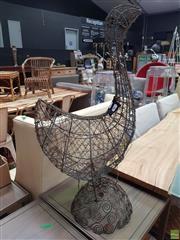 Sale 8637 - Lot 1042 - Wire Form Goose