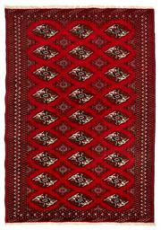 Sale 8715C - Lot 152 - A Persian Turkaman, Wool On Cotton Foundation Classed As Tribal Rugs, 188 x 130cm