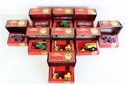 Sale 8985 - Lot 82 - A Set Of 9 Matchbox Models Of Yesteryear Cars Incl Steam Rollers