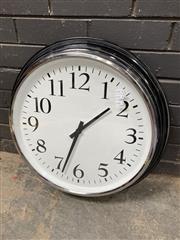 Sale 9051 - Lot 1063 - Large Wall Clock (D59cm)