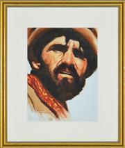 Sale 8323A - Lot 25 - Allan Waite (1924 - 2010) - The Afghan 35 x 26cm