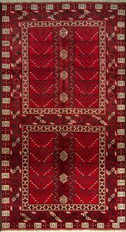 Sale 8380C - Lot 36 - Afghan Antique Turkman 260cm x 140cm