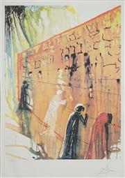 Sale 8492A - Lot 5074 - Salvador Dali (1904 - 1989) - Wailing Wall 67 x 50.5cm (frame size: 122 x 86.5cm)