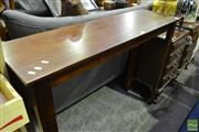 Sale 8472 - Lot 1057 - Timber Hall Table