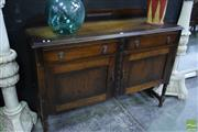Sale 8523 - Lot 1007 - Sideboard With Two Drawers & Cupboards