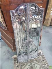 Sale 8648C - Lot 1073 - Rustic Metal Framed Mirror
