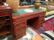 Sale 8676 - Lot 1312 - Twin Pedestal Desk