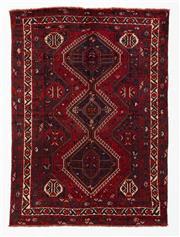 Sale 8760C - Lot 46 - A Persian Shiraz 100% Wool Pile, 305 x 220cm