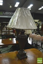 Sale 8352 - Lot 1020 - Pair of Urn Form Base Table Lamps
