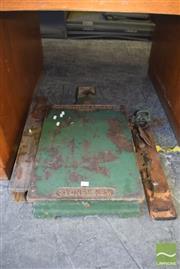 Sale 8390 - Lot 1328 - Cast Iron Scale Base
