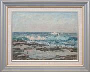 Sale 8420 - Lot 571 - Will Ashton (1881 - 1963) - Seascape 28 x 38cm