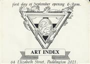 Sale 8766A - Lot 5015 - Art Index - Art Index Gallery exhibition lithograph