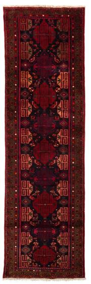 Sale 8790C - Lot 101 - A Persian Hamadan Lori Classed As Village Rugs, Wool On Cotton Foundation, 312 x 90cm