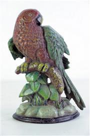 Sale 8968 - Lot 2 - A Cast Iron Parrot Form Door Stop (H 27cm)
